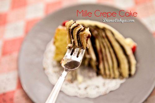 MILLE CREPE CAKEr