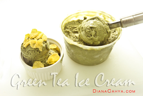 ICE CREAM GREEN TEA-9808